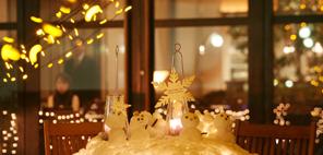 [ TOPICS / Winter Wedding特集 ] 旬の食材や、季節を感じる演出など<br/>とっておきの冬のおもてなし